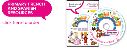 Primary French and Spanish Resources - click here to order
